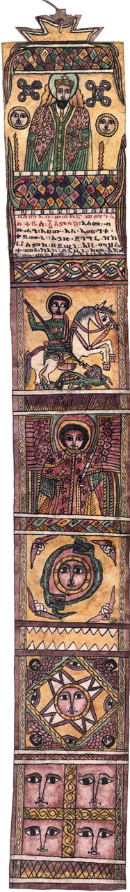 picture scroll by Marigeta Te'ubo, Lalibela